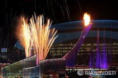 Церемония открытия XXII Олимпийских Игр