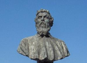 Бюст Челлини во Флоренции