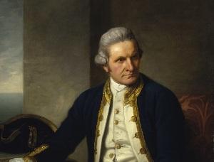 Джеймс Кук (Портрет работы Натаниэла Дэнс-Холланда, ок. 1775 года, )