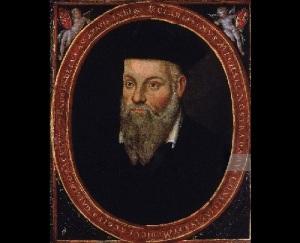 Портрет Нострадамуса, написанный его сыном Сезаром