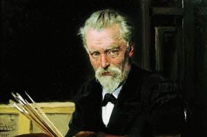 Владимир Маковский (Автопортрет, 1905, )