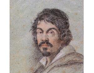 Портрет Караваджо работы Оттавио Леони, 1621 год,