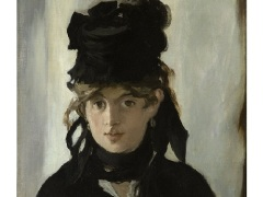 Портрет Берты Моризо работы Эдуарда Мане (1872)