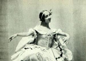 Ольга Спесивцева в балете «Эсмеральда», около 1915,