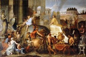 Статуя Александра в Археологическом музее Стамбула