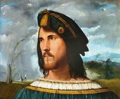 Предполагаемый портрет Чезаре Борджиа
