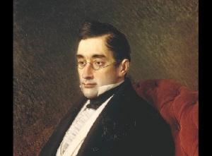 Портрет Александра Грибоедова кисти И.Крамского (1875 год, )