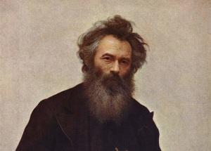 Иван Иванович Шишкин (Портрет работы И.Н. Крамского)