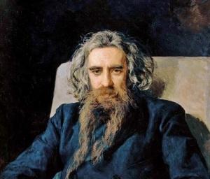 Владимир Соловьев (Портрет работы Н.А. Ярошенко 1892 года)