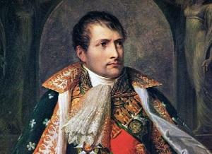 Наполеон I Бонапарт (Портрет кисти Поля Делароша)
