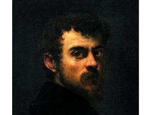 Якопо Тинторетто, фрагмент автопортрета