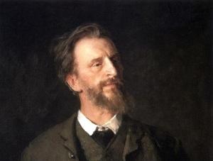 Григорий Мясоедов (Портрет работы И.Репина, 1886 год)