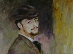 Пьер Огюст Ренуар (Автопортрет, 1876)