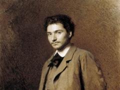 Портрет Федора Васильева работы И.Н. Крамского, 1871,