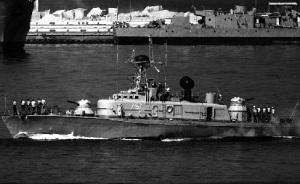 Рисунок торпедного катера проекта 183, который создал Гойнкис