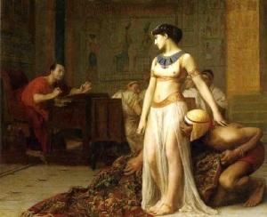 «Клеопатра и Цезарь» (Фрагмент картины Жана-Леона Жерома)
