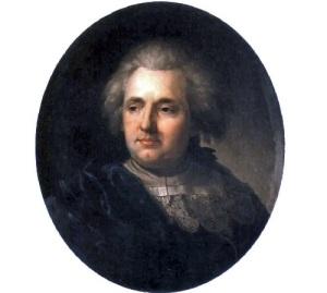 Портрет Франциска Смуглевича работы Ю.Пешки,