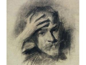 Виктор Борисов-Мусатов (Автопортрет, 1904-1905)