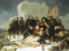 Виллем Баренц скончался в пути и был похоронен в море