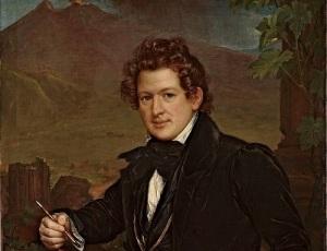 Карл Брюллов на картине В.А. Тропинина (1836)