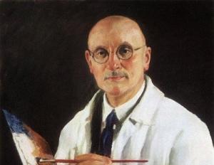 Игорь Грабарь (фрагмент автопортрета, 1934)