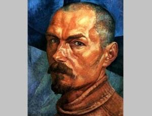 Кузьма Петров-Водкин (Автопортрет, 1918, )