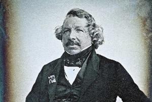 Дагеротипный портрет Дагера (1844 год)