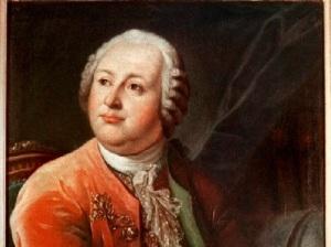 Портрет М.В. Ломоносова художника Л.С. Миропольского (1787, )