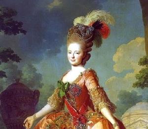 Мария Фёдоровна Романова (Портрет работы Александра Рослина, )