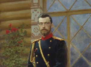 Портрет Николая II в 1896 году (художник Илья Репин)