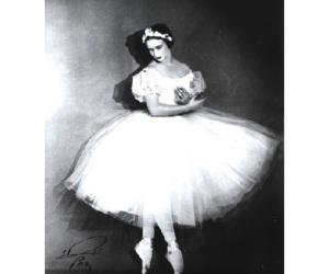 Марина Семенова (партия Одетты)
