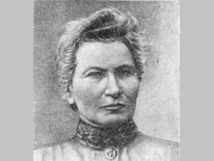 Цераская в кругу московских астрономов в 1901 году