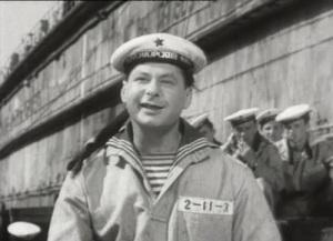 Андрей Сова в фильме «Тень у пирса» (1955)