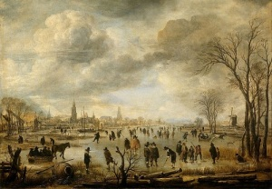 Веселье на льду (около 1650)