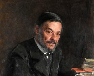 Иван Сеченов, портрет работы Ильи Репина
