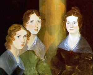 Три сестры Бронте. Слева направо: Энн, Эмили и Шарлотта.