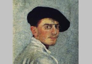 Леон Бакст (Автопортрет, 1893 год, )