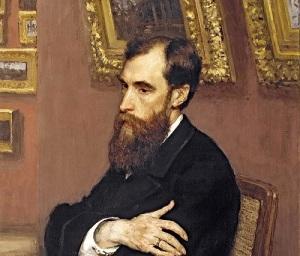 Павел Михайлович Третьяков (Портрет кисти Ильи Репина, 1883, )