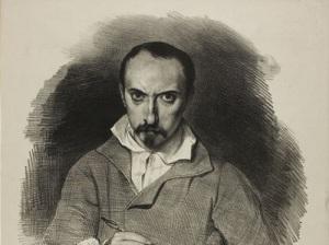 Ашиль Девериа (Автопортрет, около 1835, )