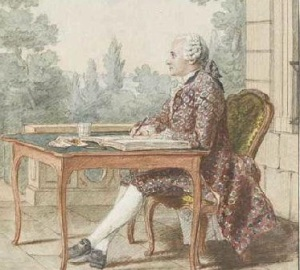 Кармонтель (Автопортрет, ок. 1762)