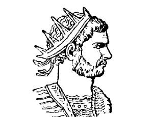 Аврелиан (Портрет Аврелиана из шведской энциклопедии Nordisk familjebok,  )