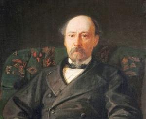 Портрет Николая Некрасова работы Н.Н. Ге (1872 год, )