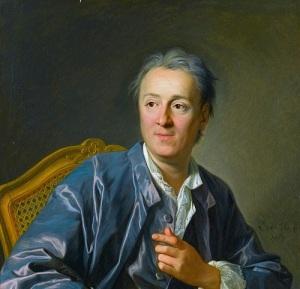 Портрет Дени Дидро работы Луи-Мишеля ван Лоо (1767, )