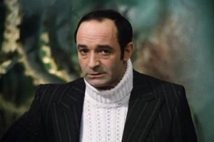 Валентин Иосифович Гафт (Кадр из фильма «Гараж», 1979)
