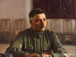 Климент Ворошилов на портрете Исаака Бродского,