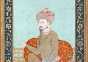 Портрет Бабура (17 век, )