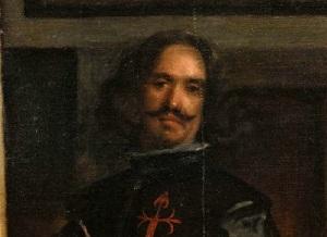 Диего Веласкес - Автопортрет, фрагмент картины