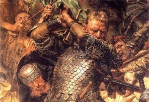 Ян Жижка (Фрагмент картины Яна Матейко «Грюнвальдская битва», )