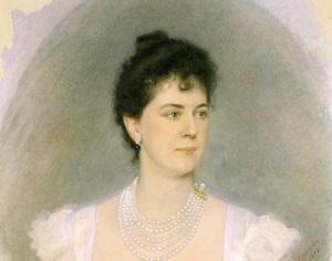 Мария Клавдиевна Тенишева (портрет работы А.П. Соколова, 1898)