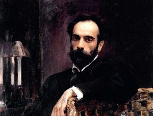 Исаак Ильич Левитан (Портрет работы В.Серова, 1893)